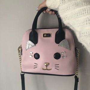 😽 Betsey Johnson cat purse 😽